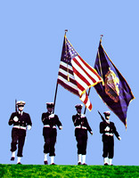 Getz Marine Color Guard